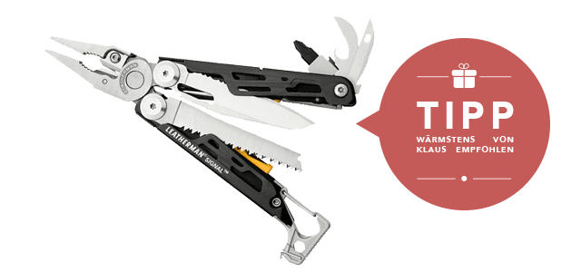 Leatherman Signal Multitool bei Globetrotter