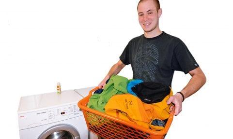 So wäscht du Funktionsbekleidung