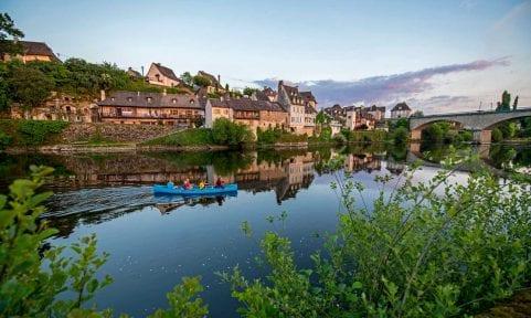 Paddeln auf der Dordogne