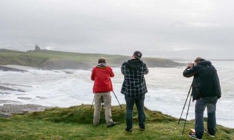 Auf Fotosafari in Irland