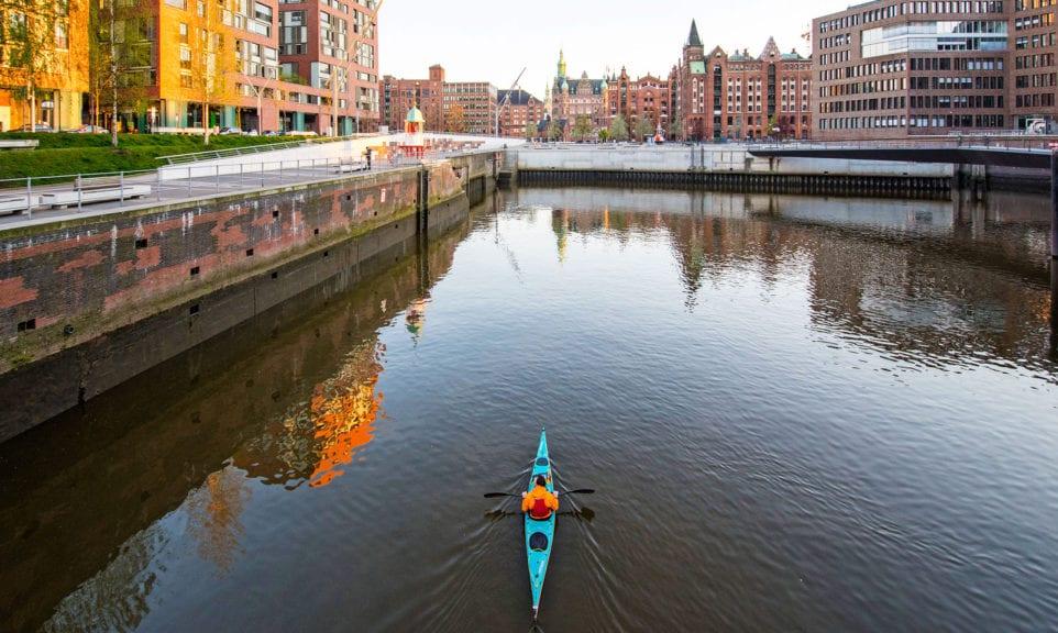 Kanu testen in Hamburg