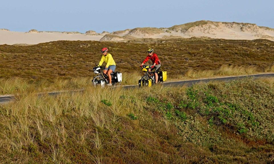 Nordsee: Inselhüpfen mit Rad