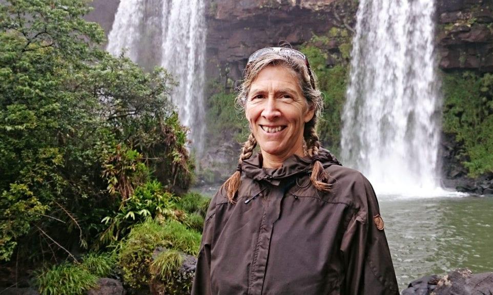 40 Jahre Globetrotter: die Travellerin