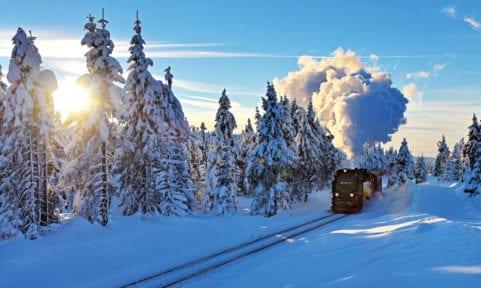 Winterflucht im Harz