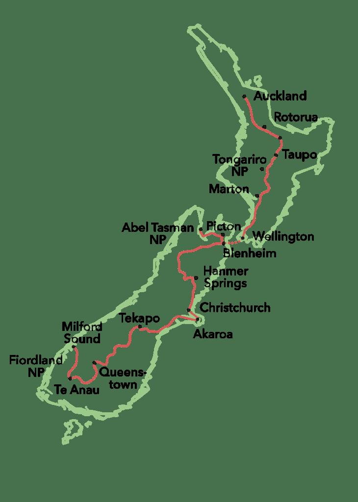 Roadtrip Neuseeland: The long way to Rotarua - Globetrotter ...