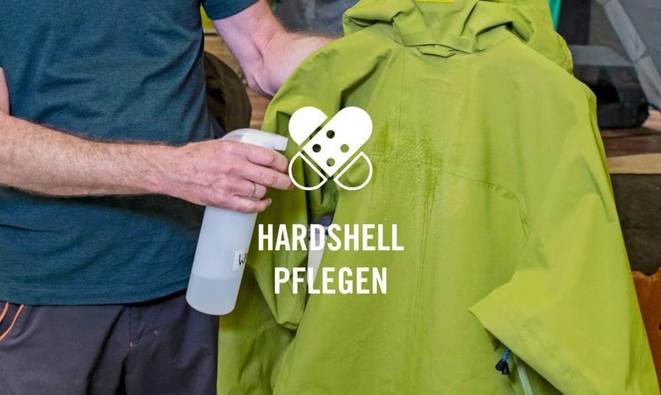 Hardshell-Bekleidung pflegen