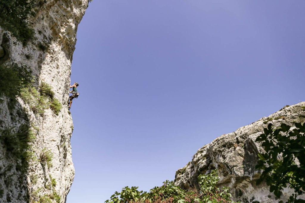 Malta Klettern Gozo Klettergarten Mgarr ix-Xini
