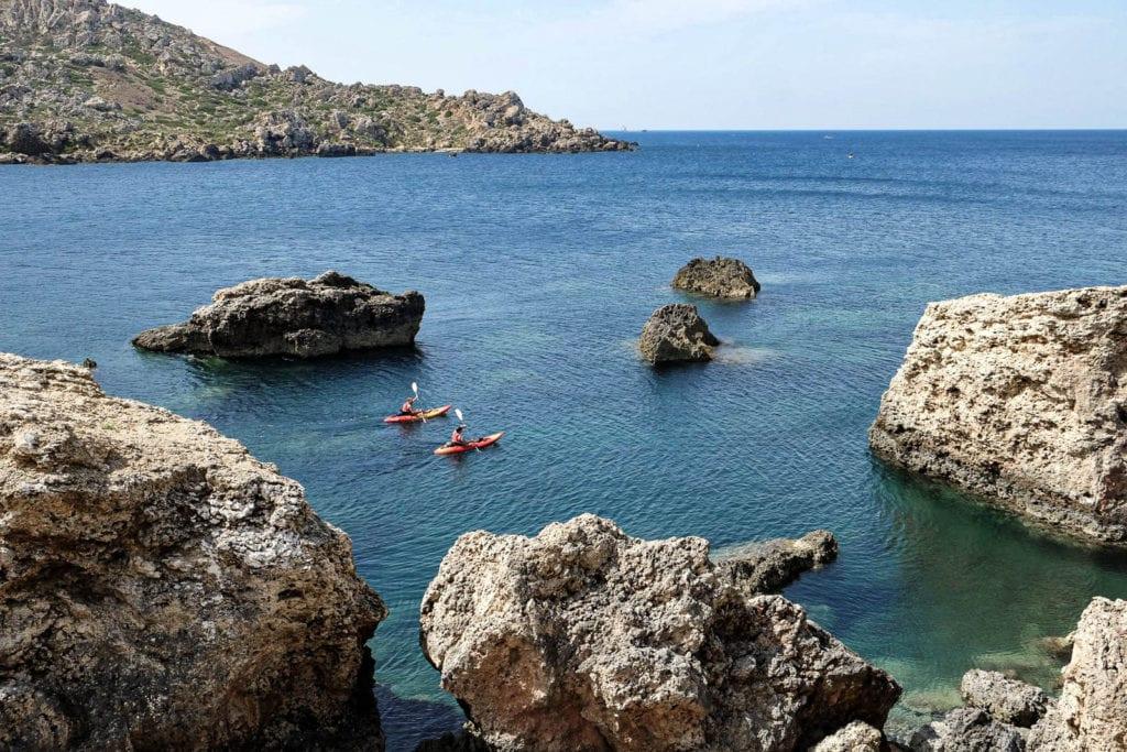 Malta Kajak Tipps Touren
