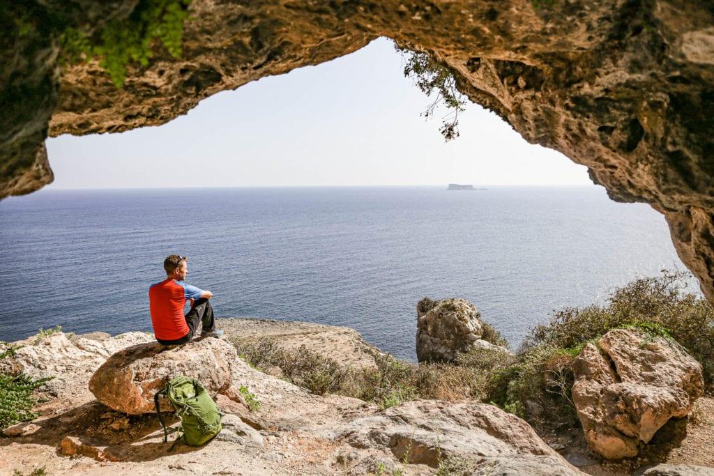 Malta Klettern am Meer