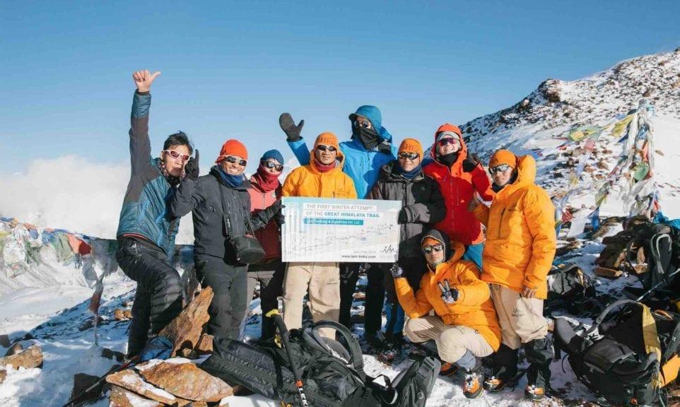 The Great Himalaya Winter-Trail - Ein neuer Versuch.