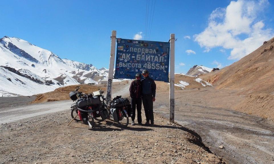 Radeln auf dem Pamir-Highway