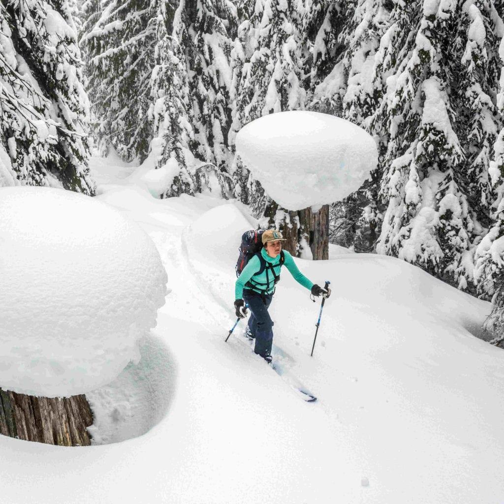 Backcountry Ski Bekleidung