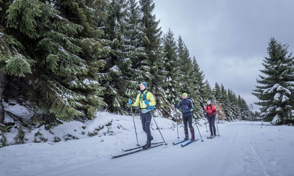 Dresdner Globetrotter auf Wintertour im Isergebirge