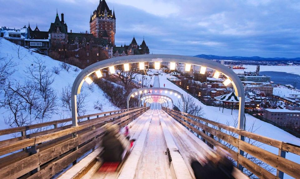 Winterreise Quebec