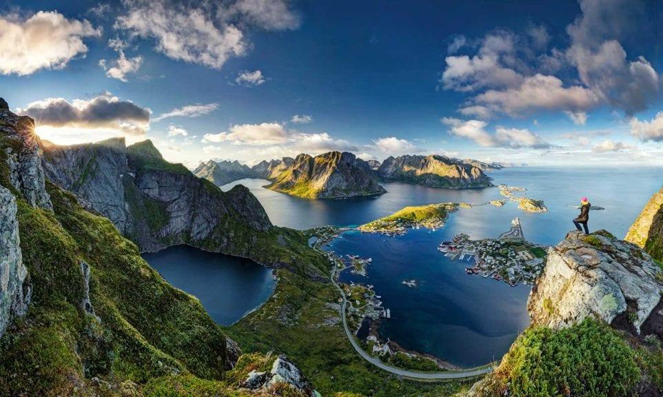 Schöne Aussichten in Norwegen