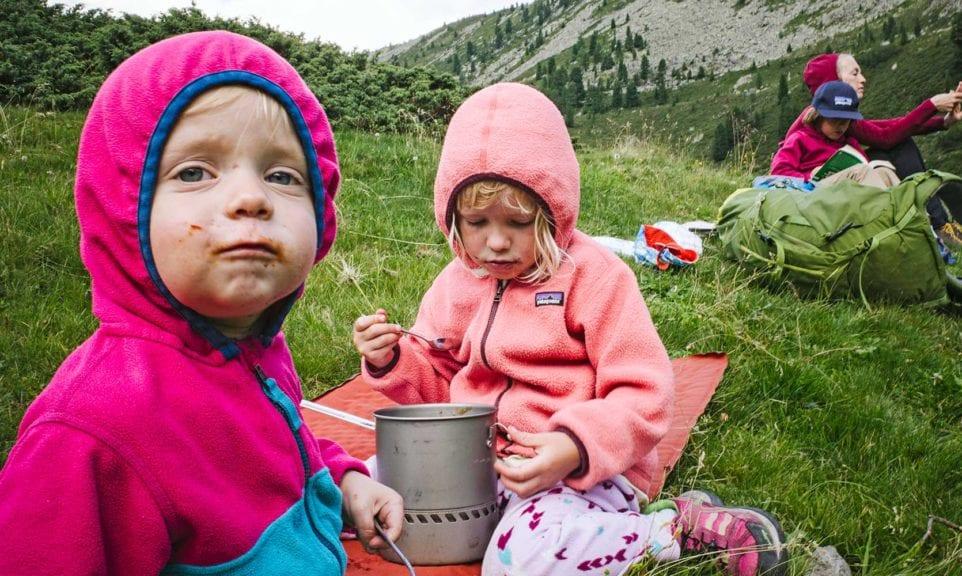 Familien-Alpencross: Über alle Berge