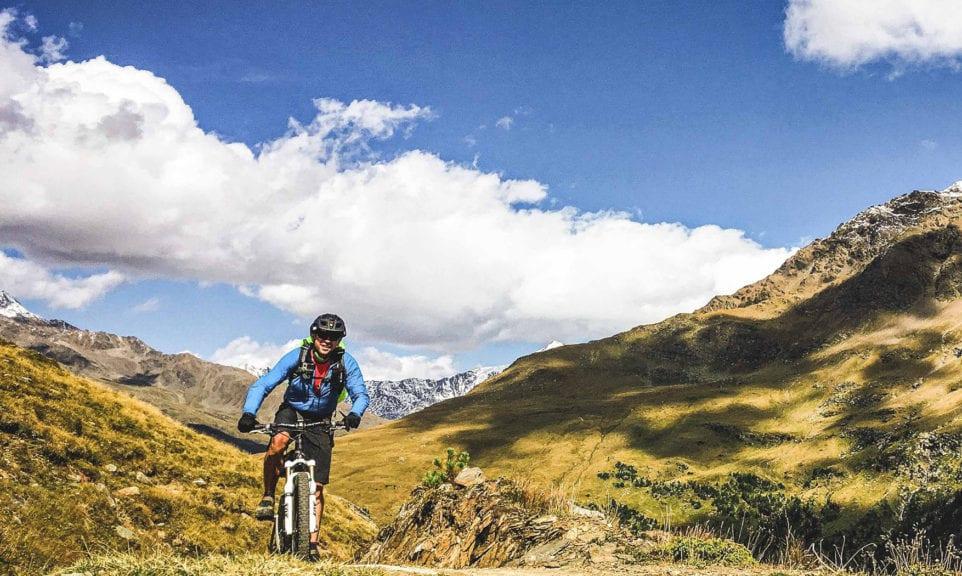 Alpencross mit dem Rad