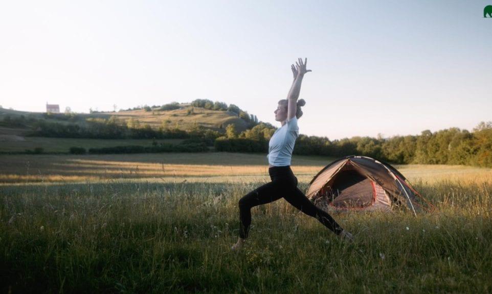 Outdoor-Yoga mit Holywow.Yoga