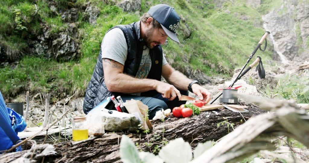 Markus Sämmer bei der Zubereitung