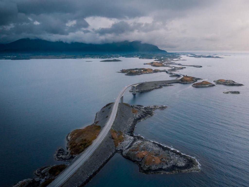 Atlantic Ocean Road Norwegen