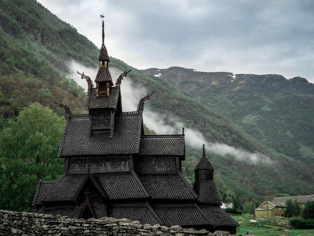Brikdalsbreen Kirche Norwegen