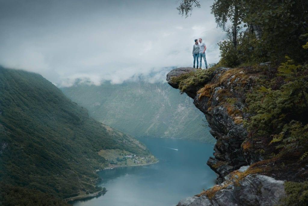 Geirangerfjord Norwegen