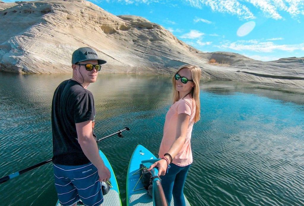 Selfie auf dem Lake Powell
