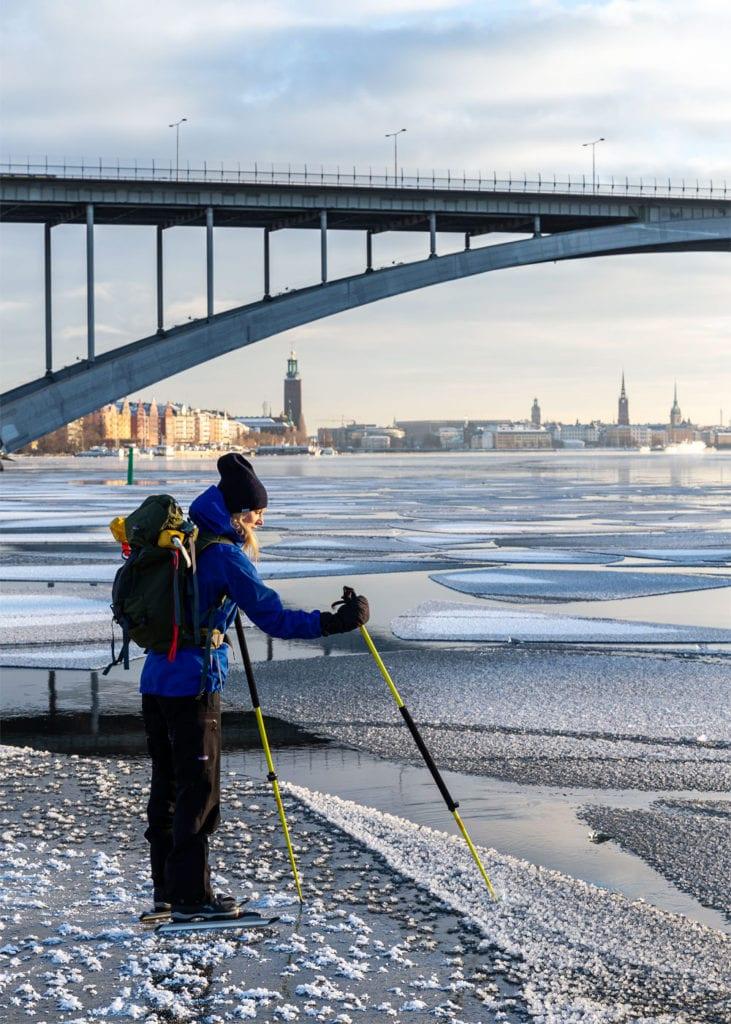 Nordic Ice Skating in Stockholm