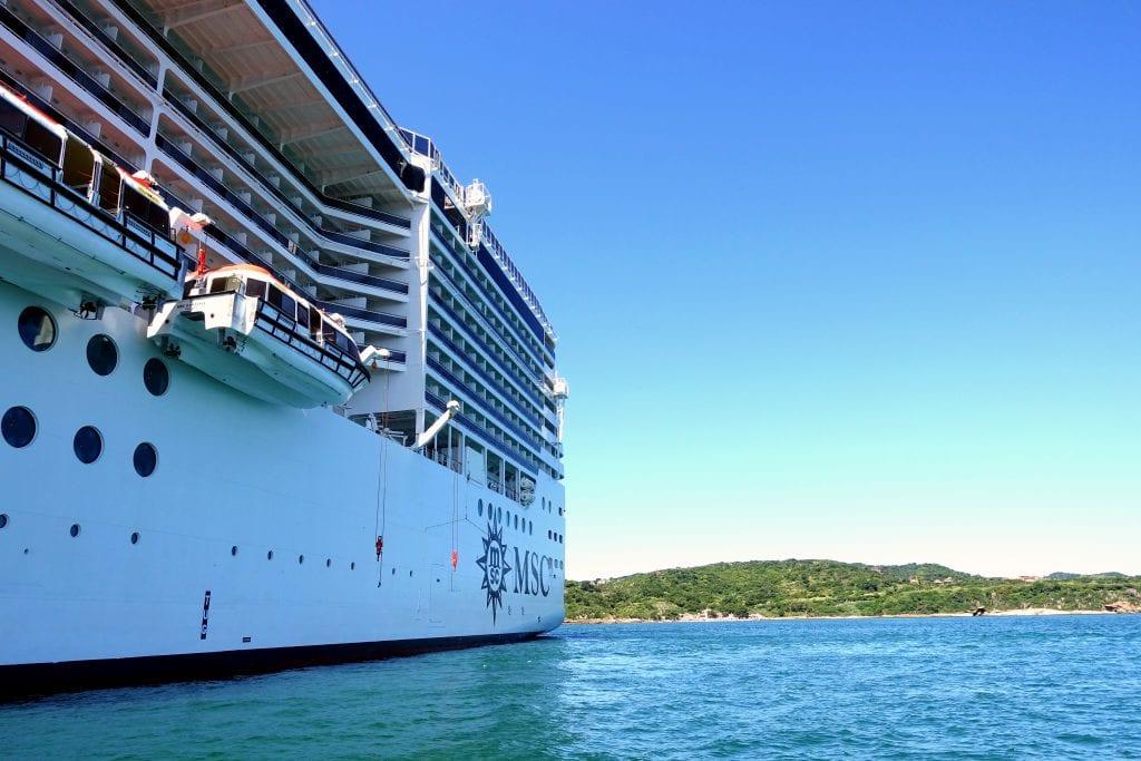 Routenplanung mit Kreuzfahrtschiff