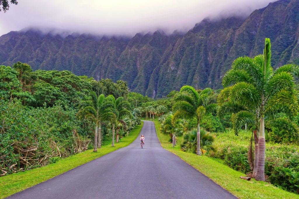 Hawaii mit dem Fahrrad