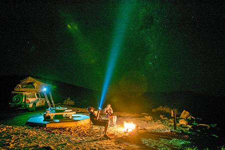 Sternenhimmel in Namibia