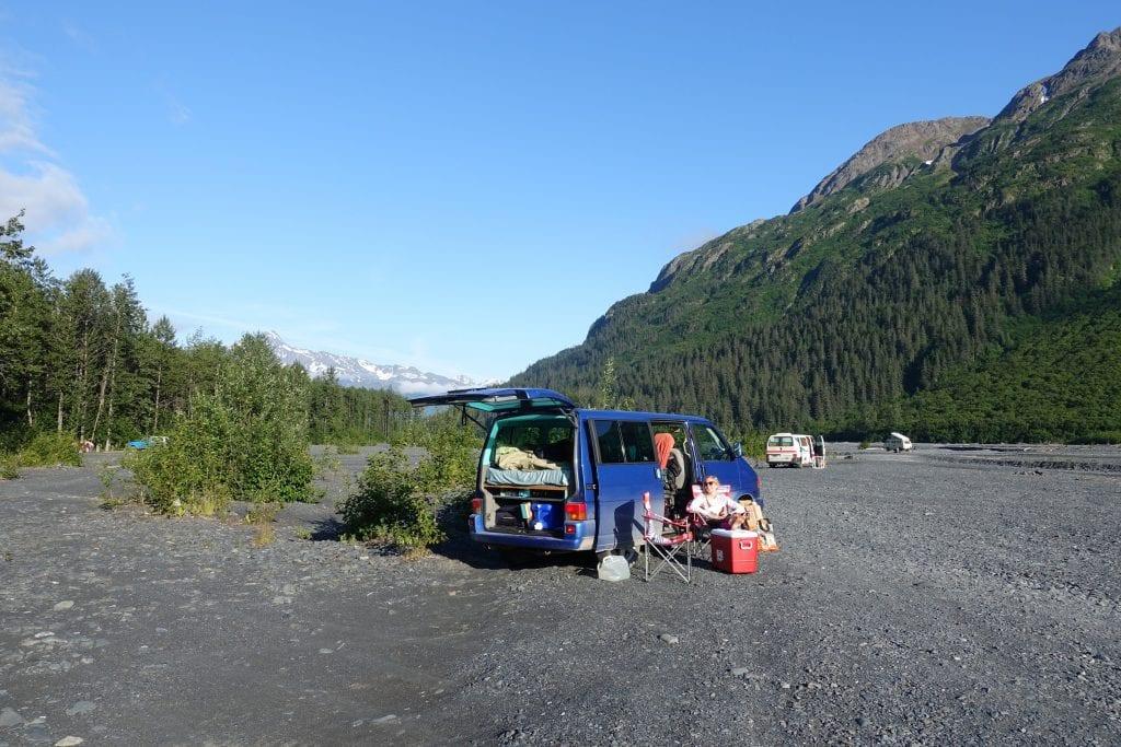 Vanlife in Alaska Nordamerika