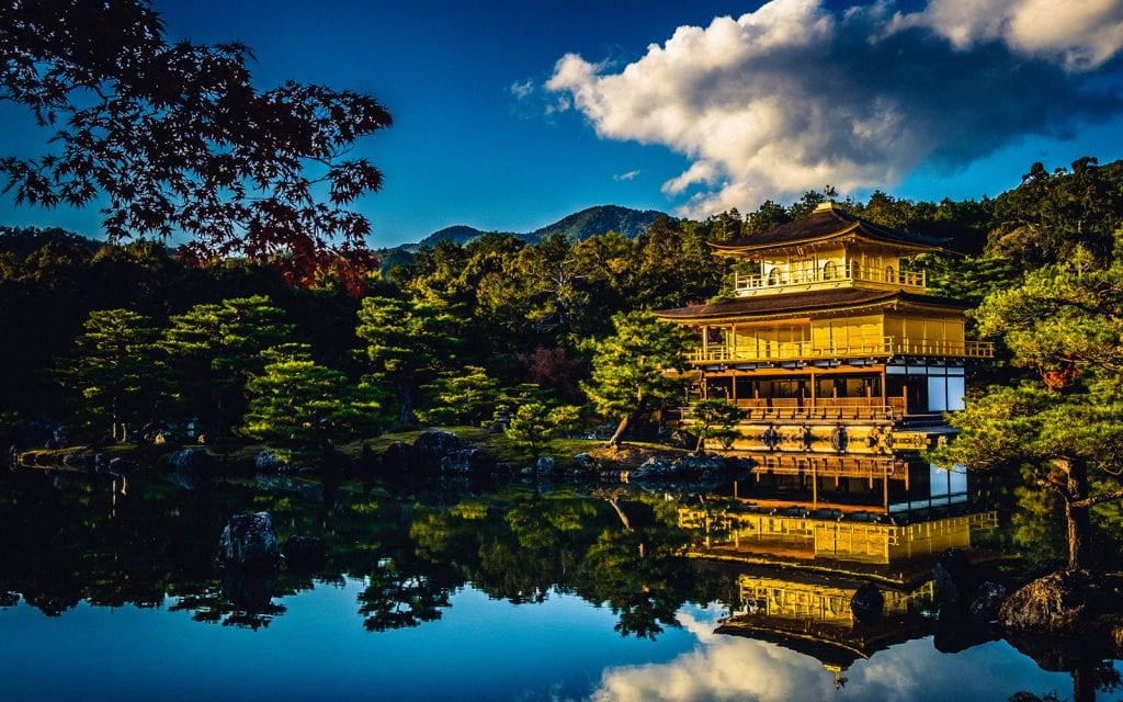 Pagode in Kyoto in Japan