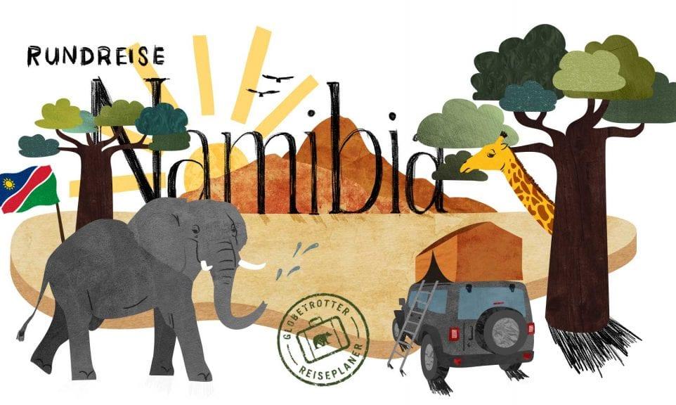 Planer: Namibia-Rundreise