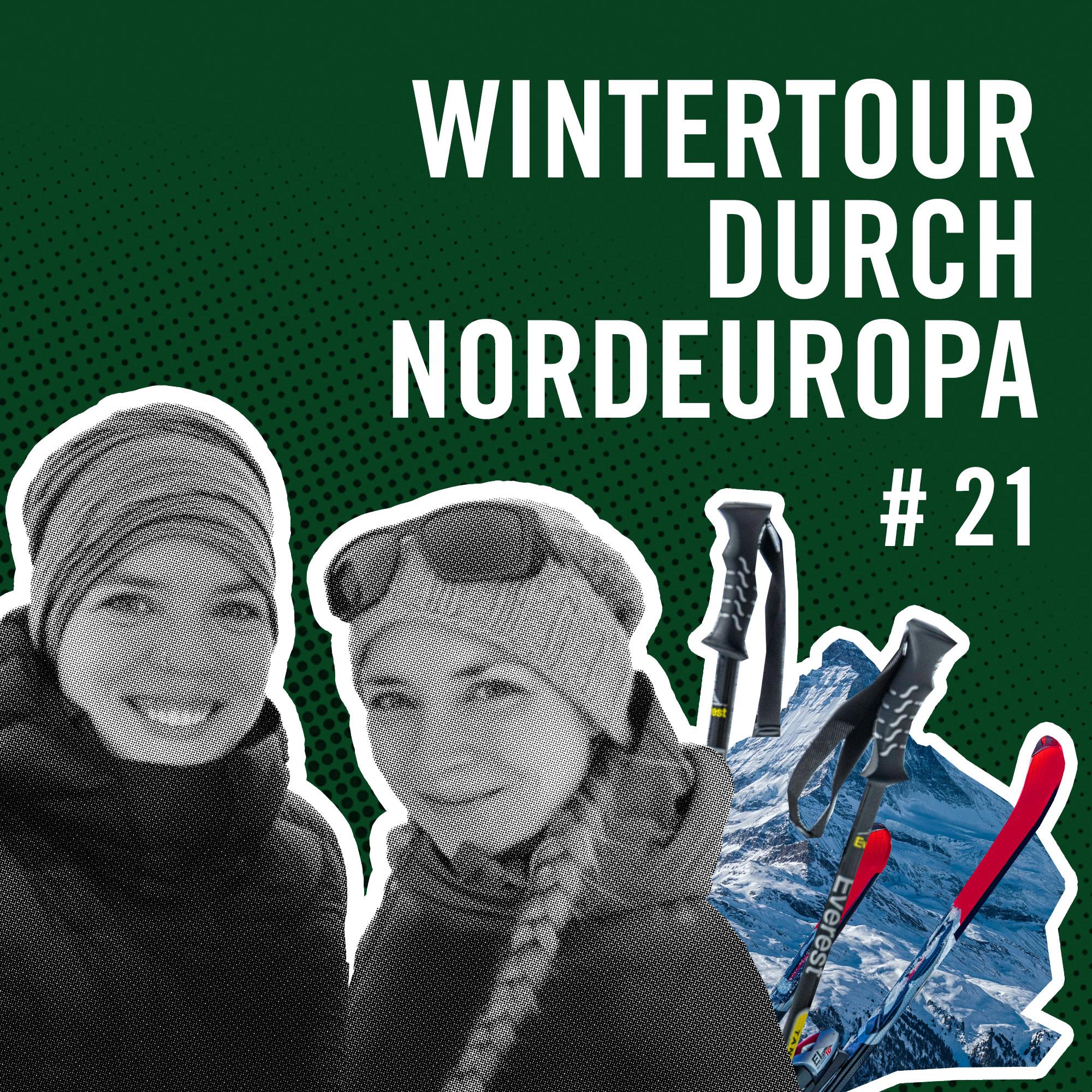 Wintertour durch Nordeurpa Titelbild