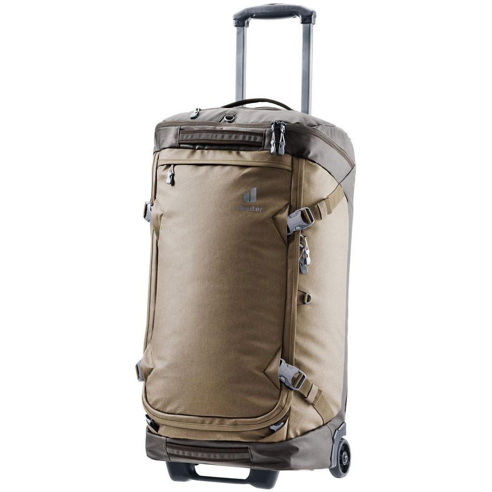 Ein Rollkoffer asl Reisegepäck.