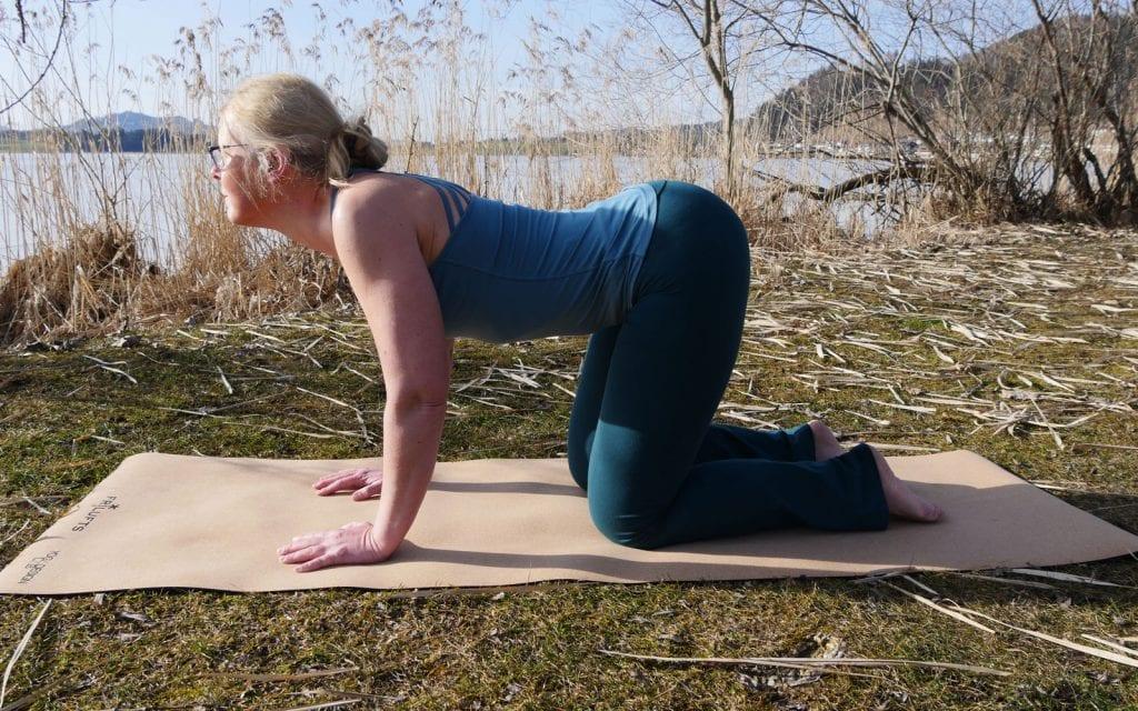 Yogaposition Kuh