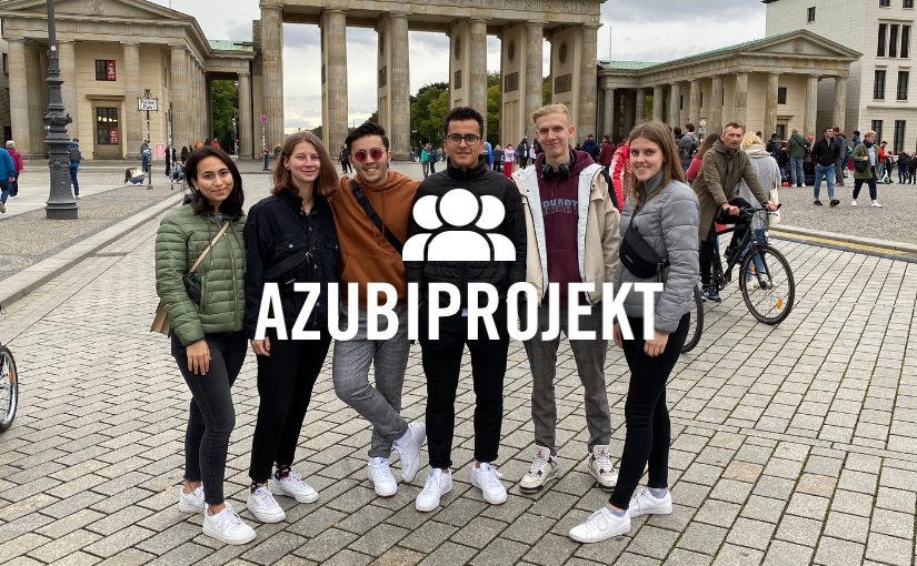 Sieben Azubis in Berlin