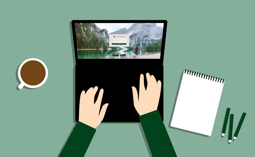 Illustration Ausbildung im Lockdown