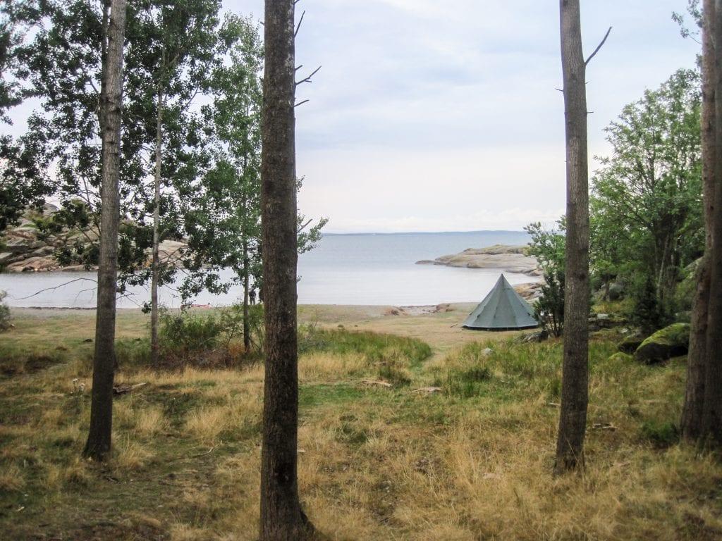 Bild von der Insel