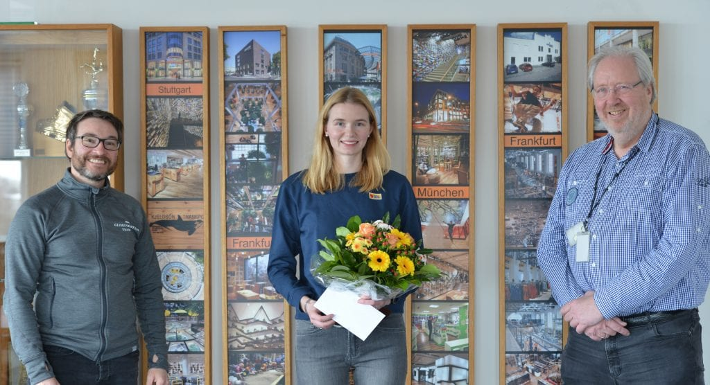 Stina erhält eine kleine Wertschätzung von Andreas Bartmann