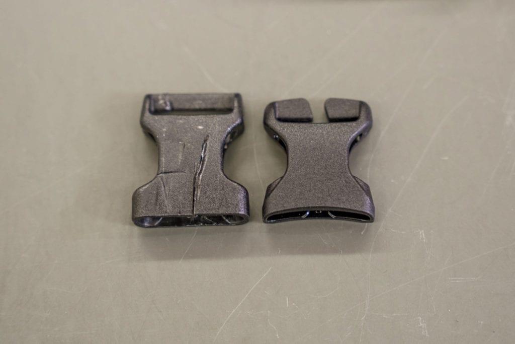 Fahrradtasche reparieren Steckschnalle tauschen