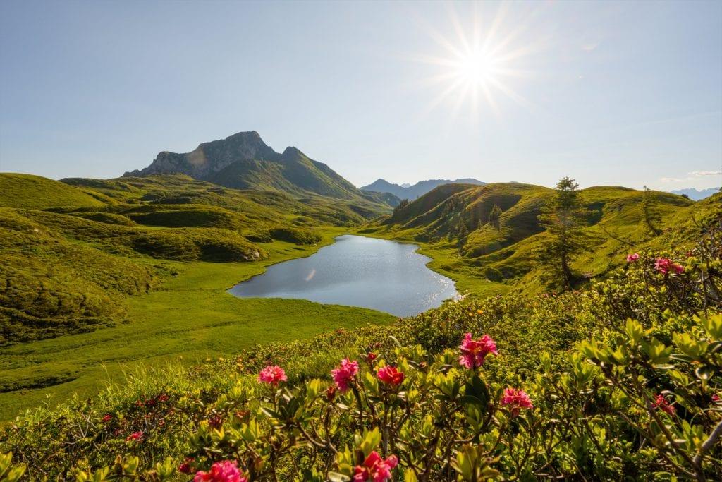 Blick auf den Zollner See in Kärnten