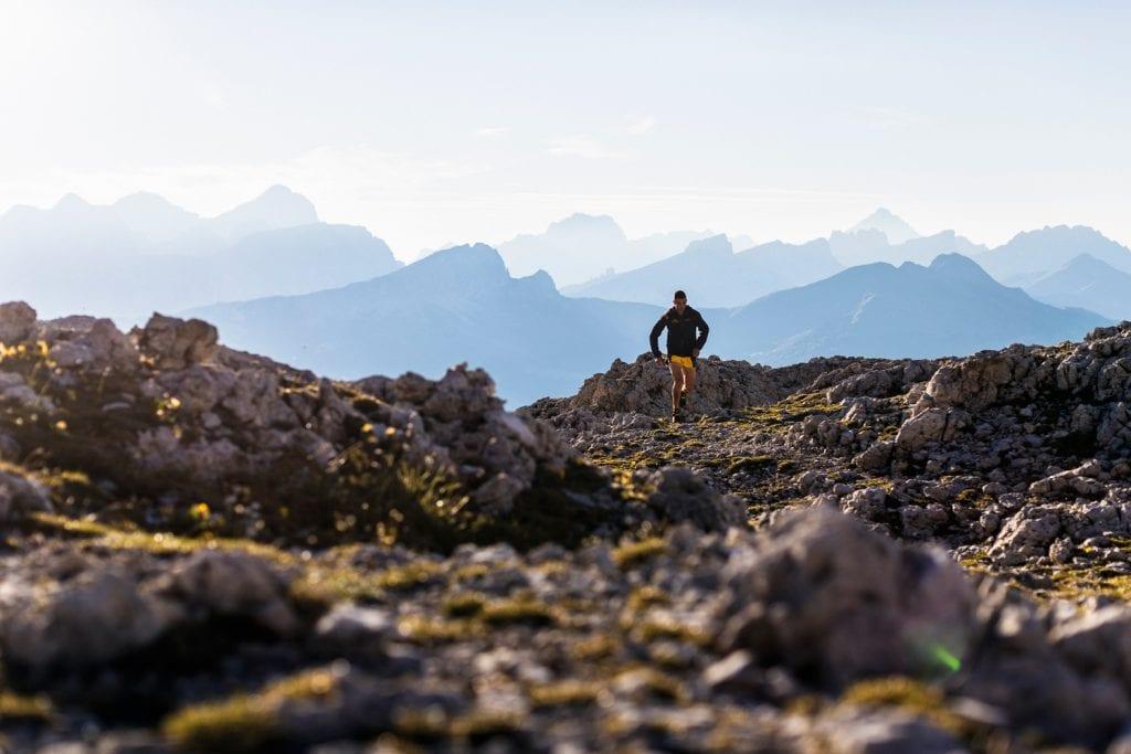 Bergläufer in Alta Badia