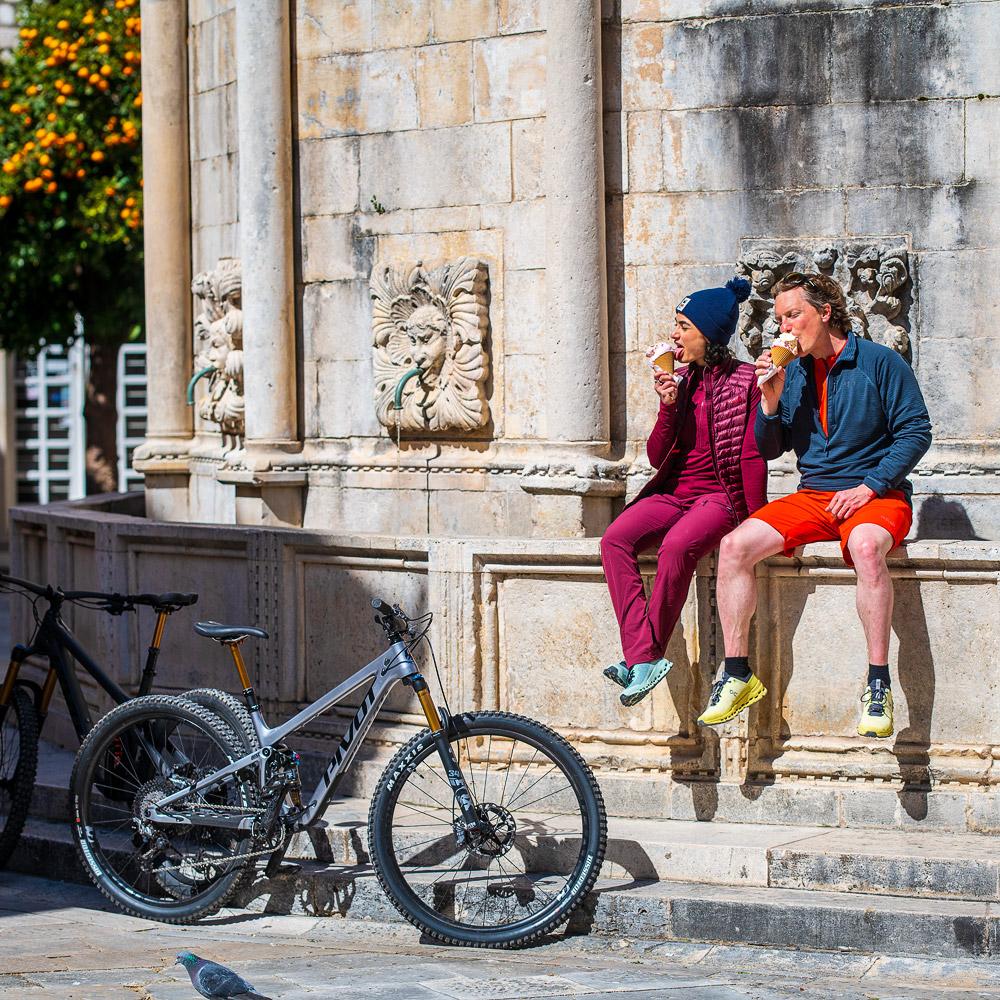 Eispause in Dubrovnik.