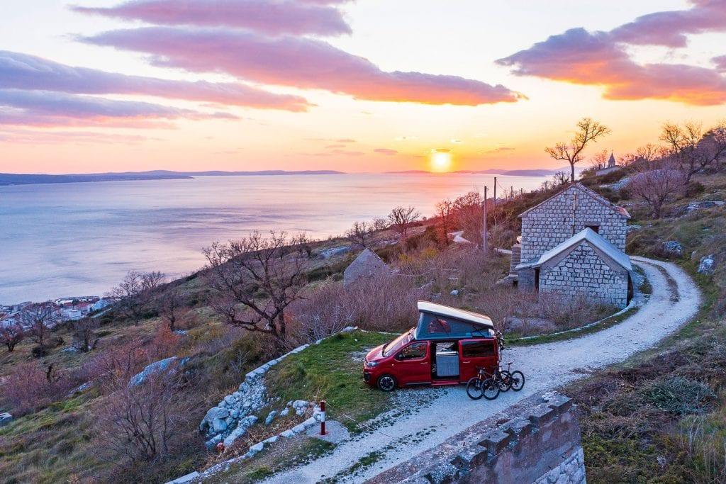 Vanlife Kroatien