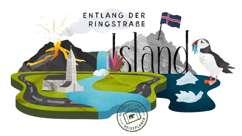 Island auf der Ringstraße