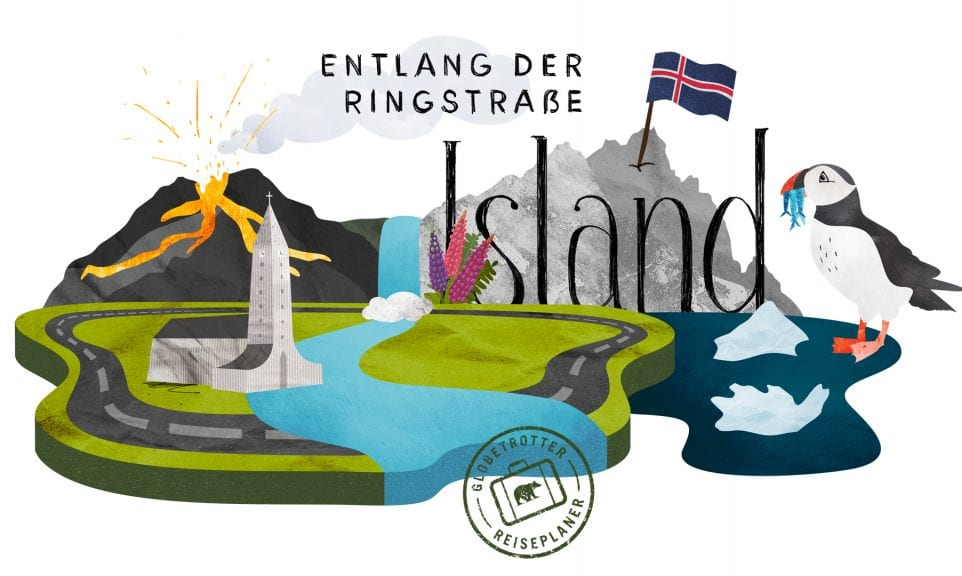Planer: Island-Rundreise auf der Ringstraße