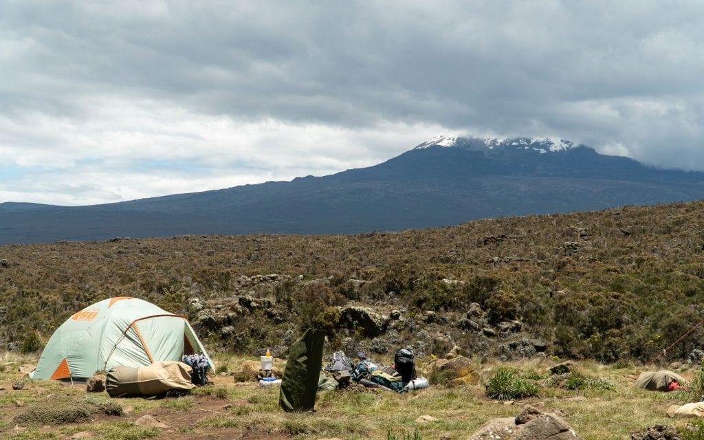 Planer Kilimandscharo Camp