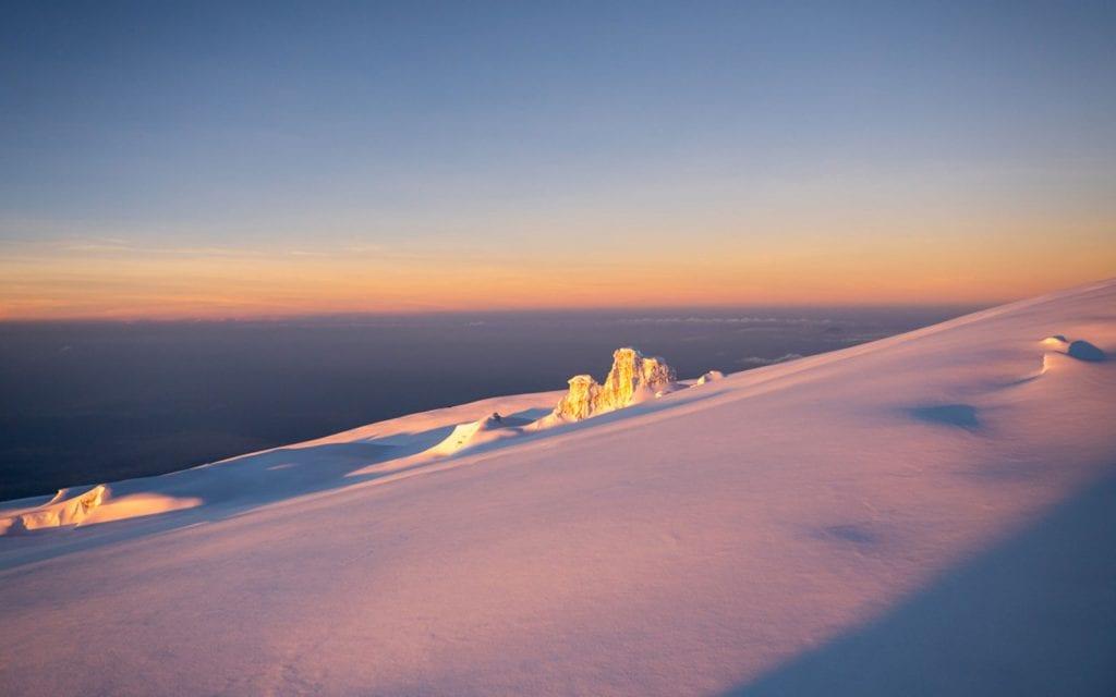 Planer Kilimandscharo Gipfeltag